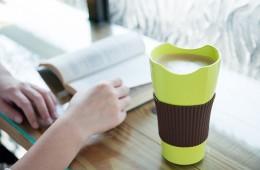 玉米做的環保杯-Tefee隨行杯上市